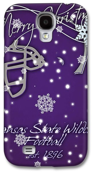 Kansas State Wildcats Christmas Card Galaxy S4 Case