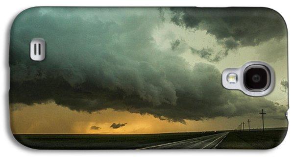 Nebraskasc Galaxy S4 Case - Kansas Storm Chase Bust Day 004 by NebraskaSC