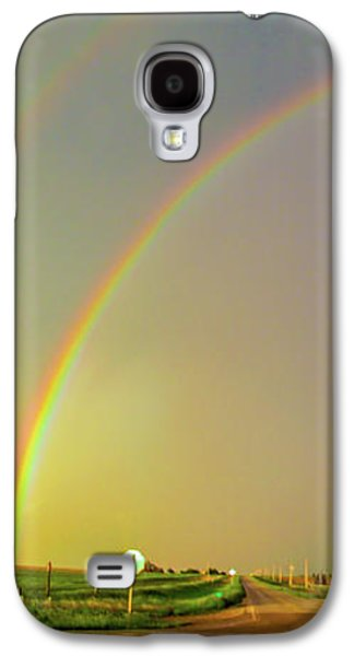Nebraskasc Galaxy S4 Case - Kansas Storm Chase Bust Day 006 by NebraskaSC