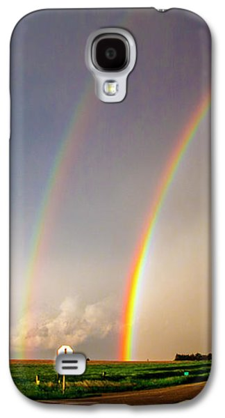 Nebraskasc Galaxy S4 Case - Kansas Storm Chase Bust Day 007 by NebraskaSC