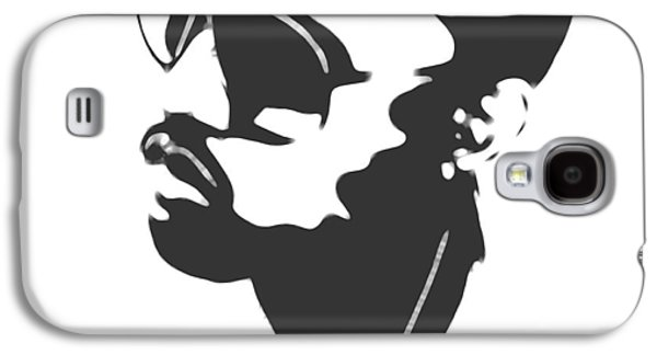 Kanye West Silhouette Galaxy S4 Case by Dan Sproul