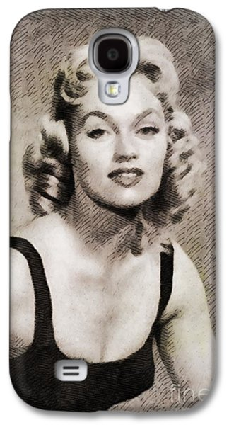 Karen Steele, Vintage Actress Galaxy S4 Case