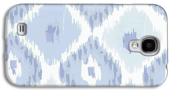 Kasbah Blue Ikat Galaxy S4 Case by Mindy Sommers
