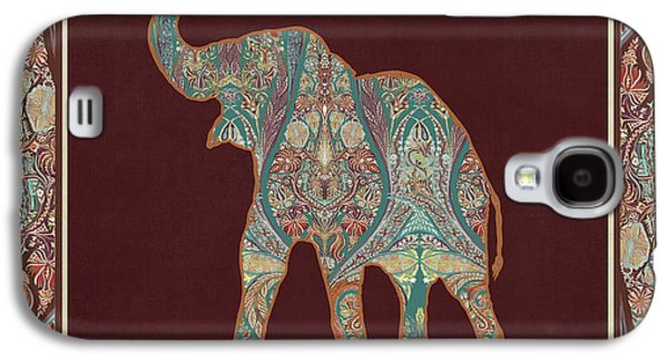 Kashmir Patterned Elephant 3 - Boho Tribal Home Decor Galaxy S4 Case