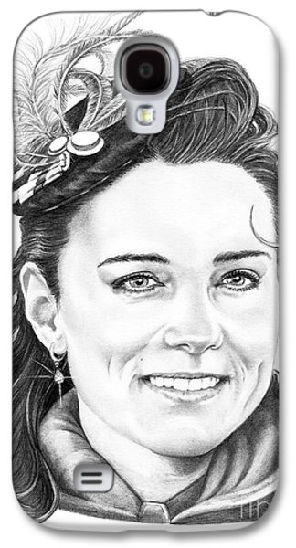 Kate Middleton Galaxy S4 Case by Murphy Elliott