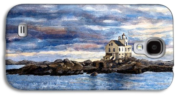 Katland Lighthouse Galaxy S4 Case by Janet King