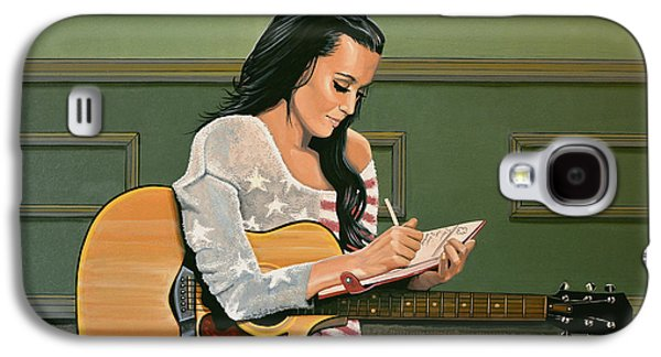 Katy Perry Painting Galaxy S4 Case