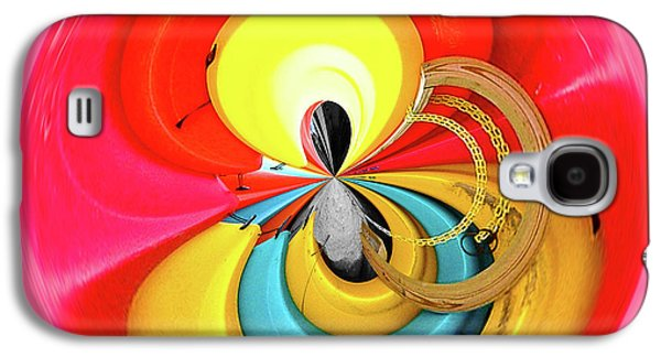 Galaxy S4 Case featuring the photograph Kayaks Orb by Bill Barber