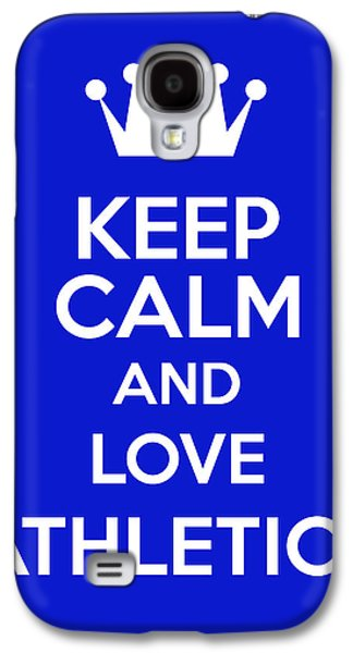 Keep Calm And Love Athletics Galaxy S4 Case by Andrew Hunt