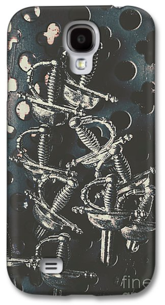 Knight Galaxy S4 Case - Keep Of A Royal Armoury by Jorgo Photography - Wall Art Gallery