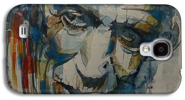 Musicians Galaxy S4 Case - Keith Richards Art by Paul Lovering