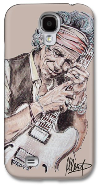 Keith Richards Galaxy S4 Case