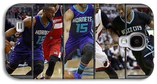 Kemba Walker Charlotte Hornets Galaxy S4 Case by Joe Hamilton