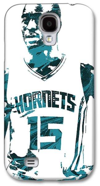 Kemba Walker Charlotte Hornets Pixel Art 4 Galaxy S4 Case by Joe Hamilton