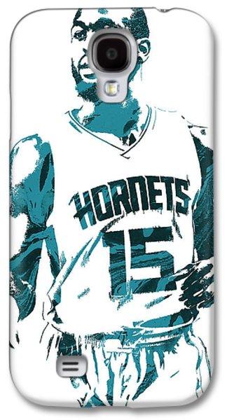 Kemba Walker Charlotte Hornets Pixel Art 5 Galaxy S4 Case by Joe Hamilton