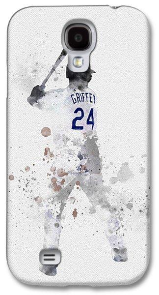Ken Griffey Jr Galaxy S4 Case by Rebecca Jenkins