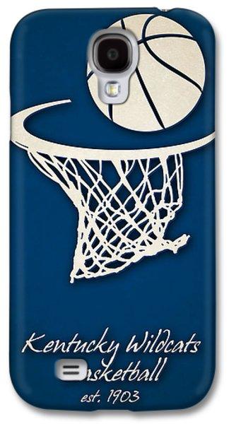 Kentucky Wildcats Basketball Galaxy S4 Case by Joe Hamilton