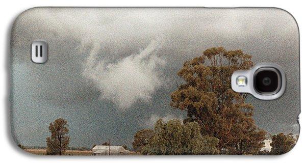 Vicki Ferrari Photography Photographs Galaxy S4 Cases - Kerula Storm  Galaxy S4 Case by Vicki Ferrari