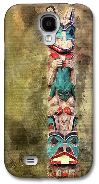 Ketchikan Alaska Totem Pole Galaxy S4 Case
