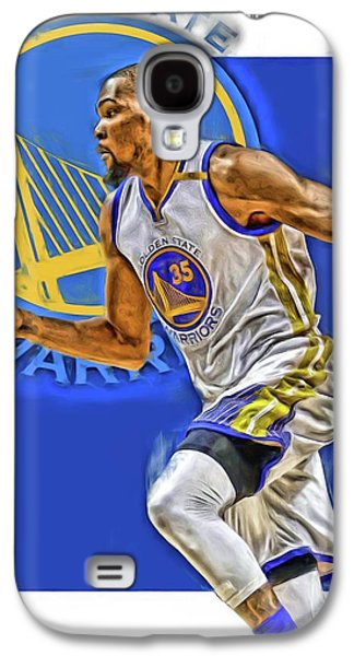 Kevin Durant Golden State Warriors Oil Art Galaxy S4 Case