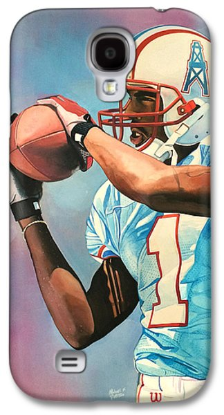 Kevin Dyson - Houston Oilers Galaxy S4 Case by Michael  Pattison