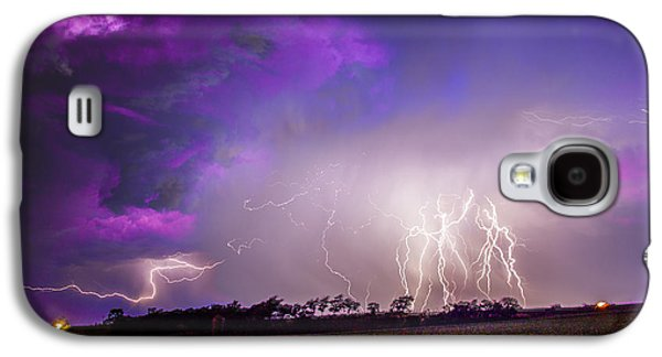 Nebraskasc Galaxy S4 Case - Kewl Nebraska Cg Lightning And Krawlers 038 by NebraskaSC