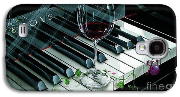 Key To Wine Galaxy S4 Case by Michael Godard