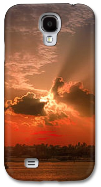 Key West Sunset Panoramic Galaxy S4 Case