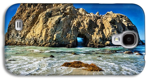Keyhole Rock At Pheiffer Beach #13 - Big Sur, Ca Galaxy S4 Case by Jennifer Rondinelli Reilly - Fine Art Photography
