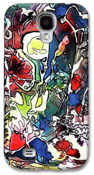 Keyhole View Galaxy S4 Case by Betty Lu Aldridge
