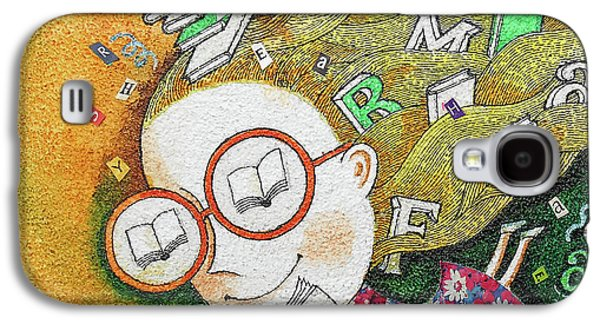 Kids And Books Galaxy S4 Case