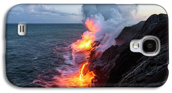 Kilauea Volcano Lava Flow Sea Entry 3- The Big Island Hawaii Galaxy S4 Case
