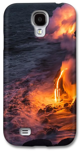 Kilauea Volcano Lava Flow Sea Entry 6 - The Big Island Hawaii Galaxy S4 Case