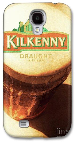 Kilkenny Draught Irish Beer Rusty Tin Sign Galaxy S4 Case