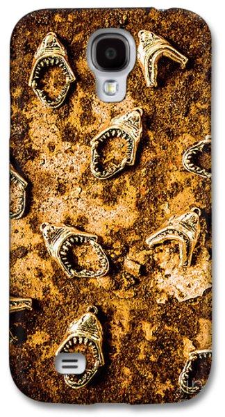 Killer Shark Jaws  Galaxy S4 Case by Jorgo Photography - Wall Art Gallery
