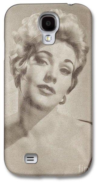 Kim Novak Hollywood Actress Galaxy S4 Case by John Springfield