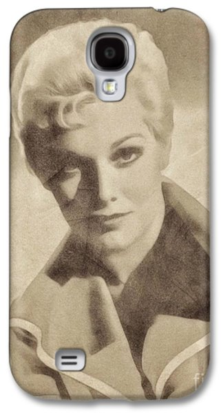Kim Novak, Vintage Actress By John Springfield Galaxy S4 Case by John Springfield