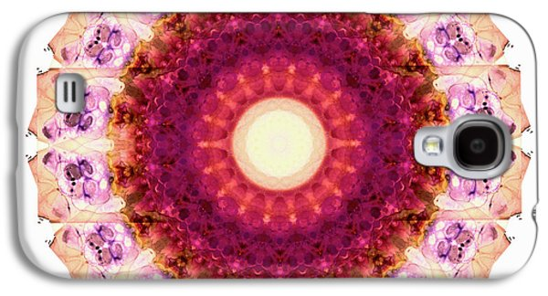 Kindness Mandala Art By Sharon Cummings Galaxy S4 Case by Sharon Cummings