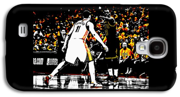 King James Directing Traffic Galaxy S4 Case by Brian Reaves
