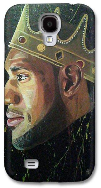 king James Galaxy S4 Case by Jason Majiq Holmes