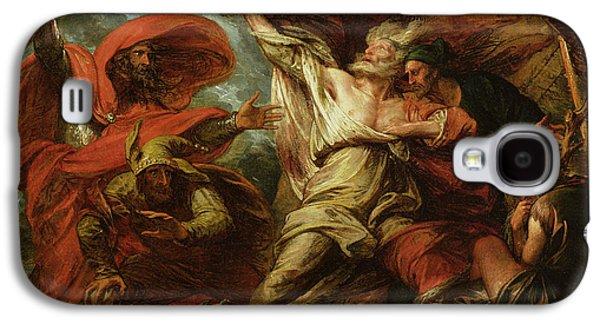King Lear Galaxy S4 Case by Benjamin West