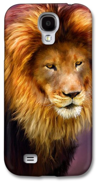 Pride Paintings Galaxy S4 Cases - King Galaxy S4 Case by Michael Greenaway