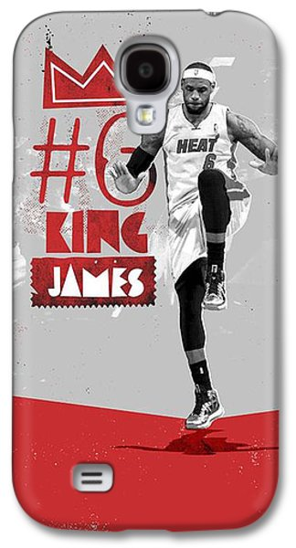 King Of Basketball Galaxy S4 Case by Jeric Barnutz