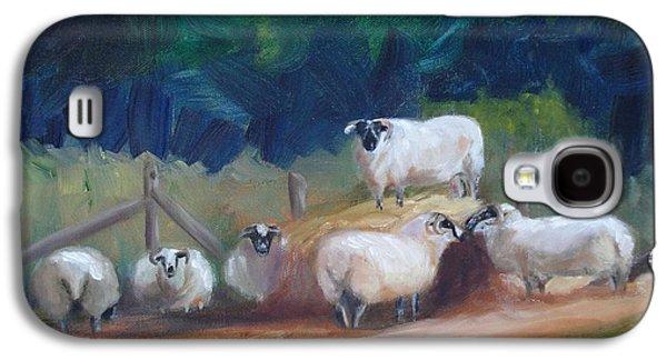 King Of Green Hill Farm Galaxy S4 Case by Donna Tuten
