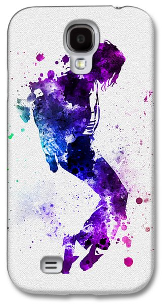 King Of Pop Galaxy S4 Case by Rebecca Jenkins