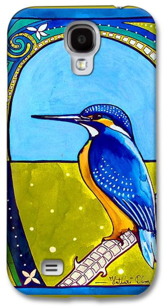 Kingfisher Galaxy S4 Case by Dora Hathazi Mendes