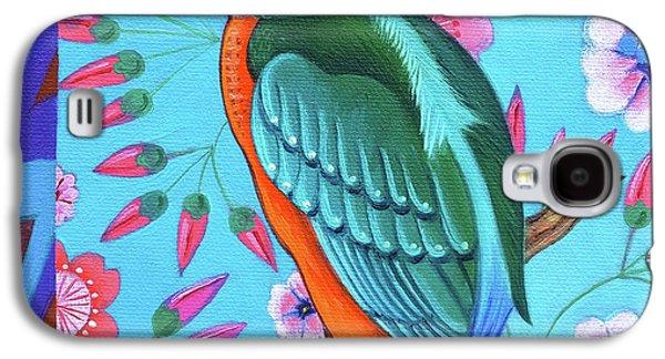 Kingfisher Galaxy S4 Case by Jane Tattersfield