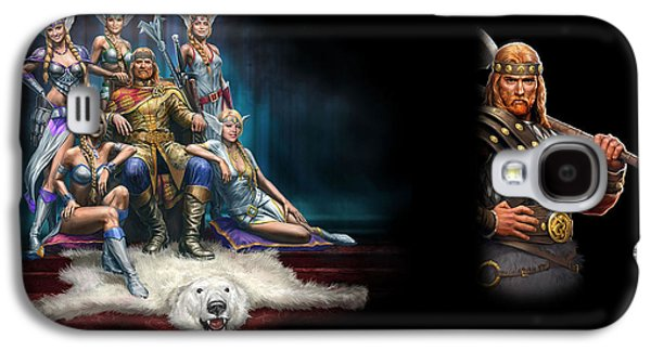 Design Galaxy S4 Case - King's Bounty Warriors Of The North by Maye Loeser