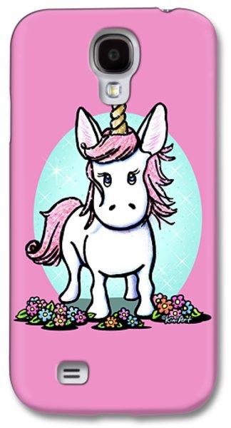 Kiniart Unicorn Sparkle Galaxy S4 Case by Kim Niles