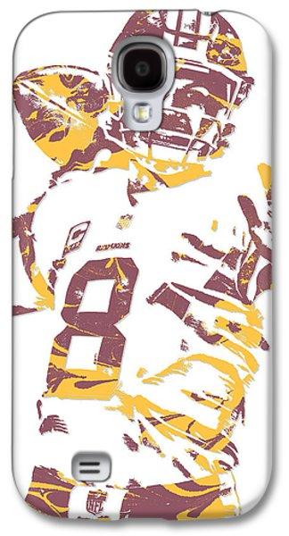 Kirk Cousins Washington Redskins Pixel Art 2 Galaxy S4 Case
